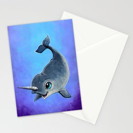 Narwal Stationery Cards