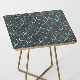 Aqua Prisma Side Table