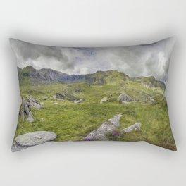 Glyderau Mountain Range Rectangular Pillow