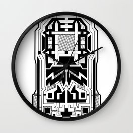 Monolith - Art Deco Design Wall Clock