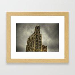 Jackson Building in Asheville, NC Framed Art Print