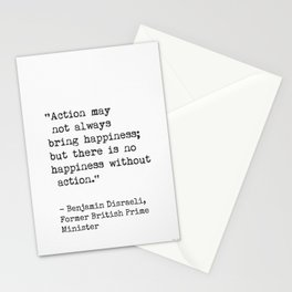 Benjamin Disraeli, Former British Prime Minister Stationery Cards