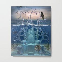Neptuns Thron Metal Print