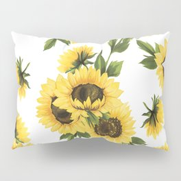 Lovely Sunflower Pillow Sham