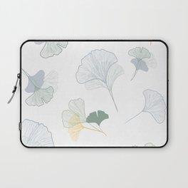 ginkgo biloba leaves pattern Laptop Sleeve