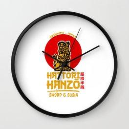 Hattori Hanzo Wall Clock