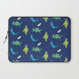 Dinosaurs Space dino kids Pattern Gift Laptop Sleeve