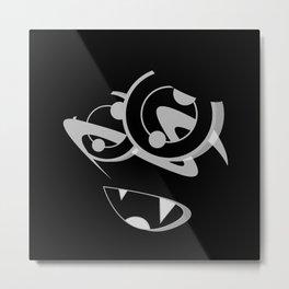 MOOSE BLACK SiDE ver. (Original Characters Art By AKIRA) Metal Print