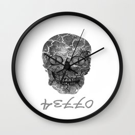 My Spooky Creepy Halloween Holiday Outfit Wall Clock