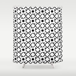Antic pattern 8- from LBK Shower Curtain