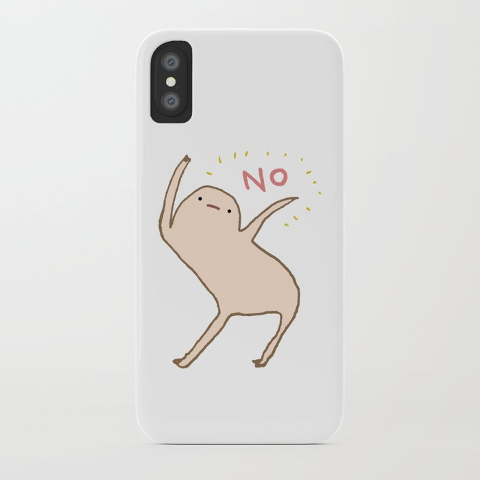 honest blob says no iphone case