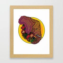 Loxodonta Africana Framed Art Print