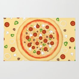 Just Pizza Rug