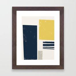 Scandi Framed Art Print