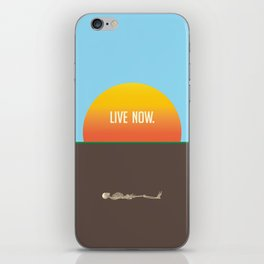 LIVE NOW. iPhone Skin