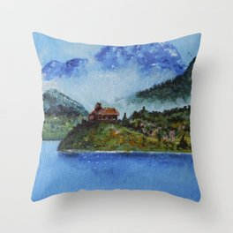 The House of the Ancestors Throw Pillow
