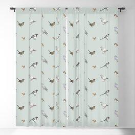 Garden birds Blackout Curtain