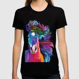 pop art horse T-shirt