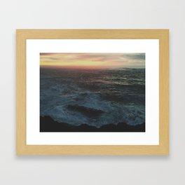 Ocean Color Framed Art Print