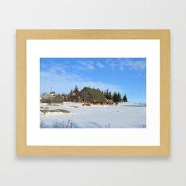 Iowa Winter 2 Framed Art Print