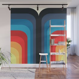 Retro Rainbow 01 Wall Mural