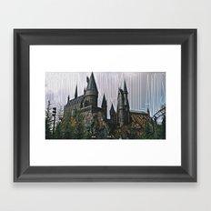 Hogwarts Motto Framed Art Print