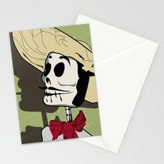 Dia de los Muertos Man Stationery Cards
