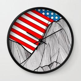 American Mounts Wall Clock