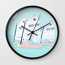 optimist Wall Clock