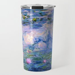 Water Lilies Monet Travel Mug