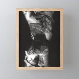 FEMALE NUDE - analog Duplex Framed Mini Art Print