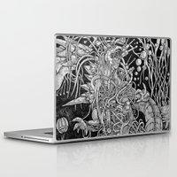 godzilla Laptop & iPad Skins featuring Godzilla by Walid Aziz