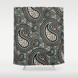 Chilled Boss Shower Curtain