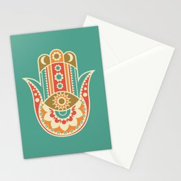 Colorful Hamsa Hand Stationery Cards