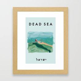 Dead Sea Poster  Framed Art Print