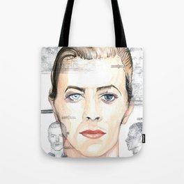MUGSHOT BOWIE Tote Bag