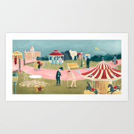 Winds in the East Art Print