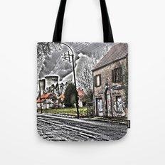 Ghost town Doel Belgium Tote Bag