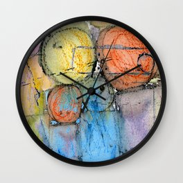 Megalithic Grave III Wall Clock