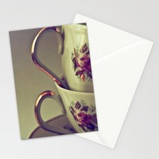 Granny's Tea Cups Stationery Cards