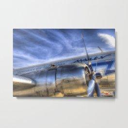 Malev Airlines Ilyushin IL-14 Metal Print
