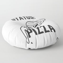 Relationship Status: Pizza, Pizza Lover Floor Pillow