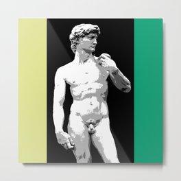 david green neon ed  Metal Print