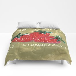 My Strawberries Comforters