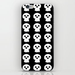 Cute halloween skull iPhone Skin