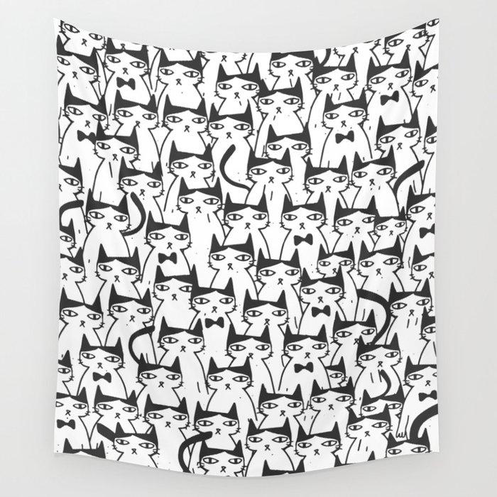 Cats #society6 Decor #buyart Wall Tapestry