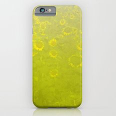A Foggy Field of Golden Yellow iPhone 6s Slim Case