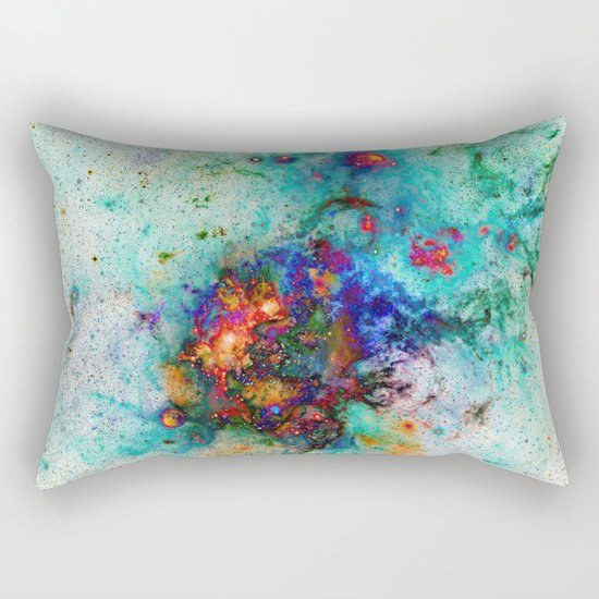 Everything is nothing 9 (therefore it was beautiful) Rectangular Pillow