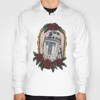 r2d2 Hoodies featuring R2D2 by Bare Wolfe