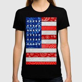Retro American Flag T-shirt